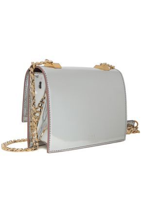 N°21 Metallic patent-leather shoulder bag ca3baf27cc218