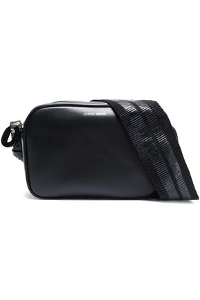 GIORGIO ARMANI Leather shoulder bag