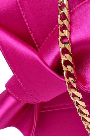 N°21 Knotted satin shoulder bag