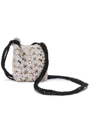 MISSONI Marled crochet-knit coin purse