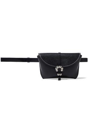 3.1 PHILLIP LIM Hudson crystal-embellished textured-leather belt bag