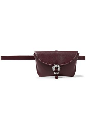3.1 PHILLIP LIM Hudson crystal-embellished textured-leather belt bag