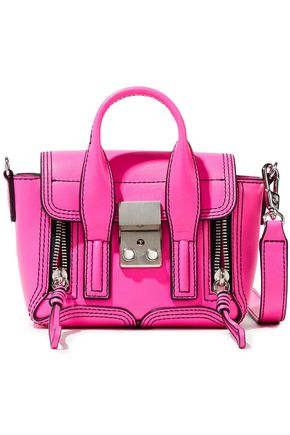 3.1 PHILLIP LIM Pashli nano neon leather shoulder bag