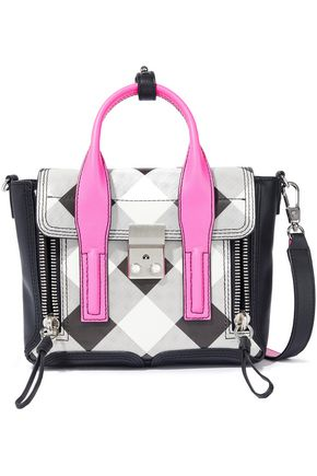3.1 PHILLIP LIM Pashli mini checked leather shoulder bag