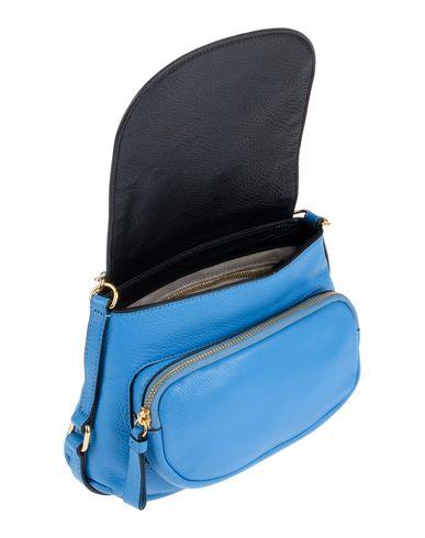 Фото 2 - Сумку через плечо пастельно-синего цвета