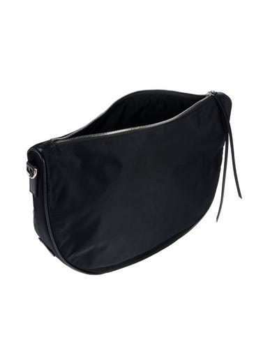 Фото 2 - Сумку на плечо черного цвета