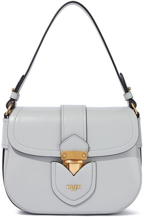 MOSCHINO Hidden Lock leather shoulder bag