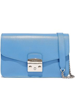 FURLA Celeste textured-leather shoulder bag