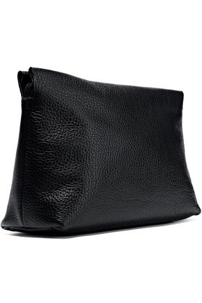 IRIS & INK Vivian pebbled-leather shoulder bag