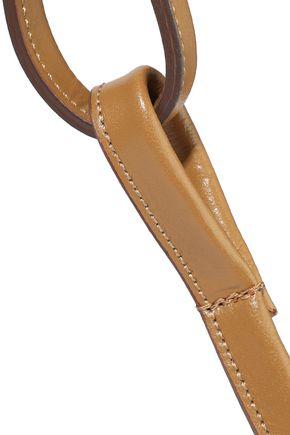 IRIS & INK Nevaeh leather shoulder bag