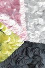 ROGER VIVIER Color-block sequined clutch