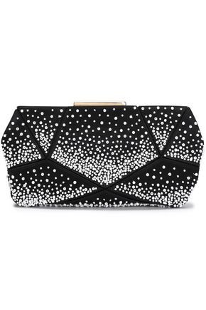 ROGER VIVIER Prismick beaded satin clutch