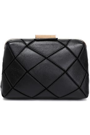 ROGER VIVIER Prismick quilted leather clutch