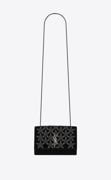 KATE Small in suede decorated with leather stars and studs