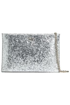 KATE SPADE New York Wedding Belles Glitterbug Sima glittered PVC clutch
