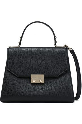 KATE SPADE New York Samira textured-leather shoulder bag