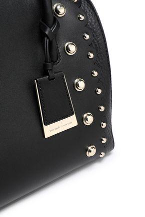 KATE SPADE New York Madison Stewart studded leather shoulder bag