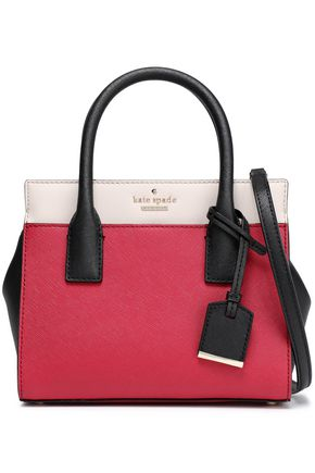 KATE SPADE New York Candace Cameron Street color-block leather shoulder bag