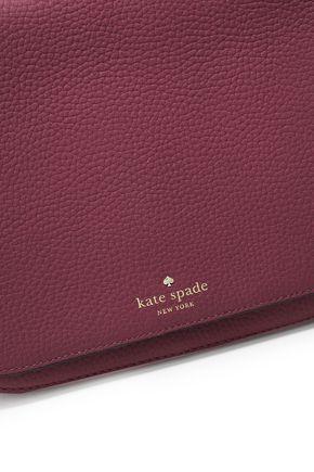 KATE SPADE New York Daniels Drive Tressa tasseled textured-leather shoulder bag