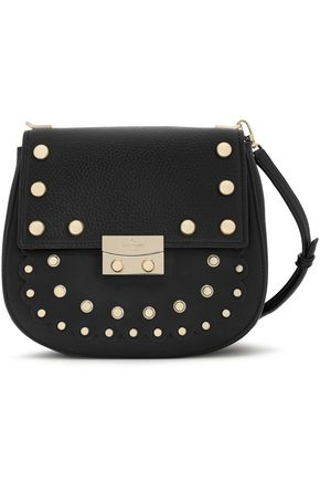KATE SPADE New York Madison Stewart Byrdie studded leather shoulder bag