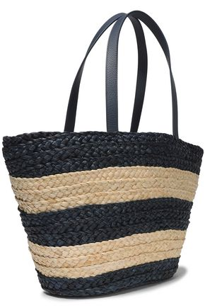 KATE SPADE New York Shore Thing Out and About embellished straw tote