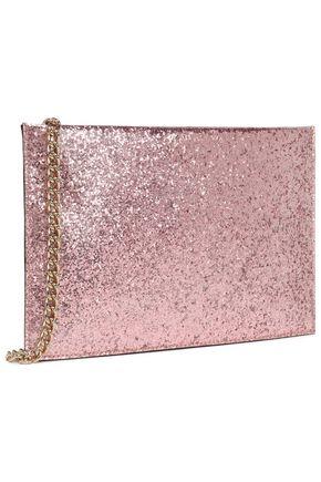 KATE SPADE New York Wedding Belles Glitterbug Sima glittered PVC clutch