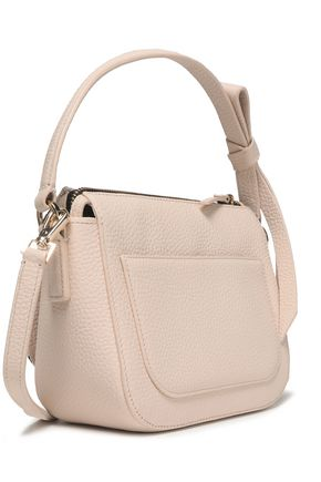 KATE SPADE New York Leather and canvas shoulder bag