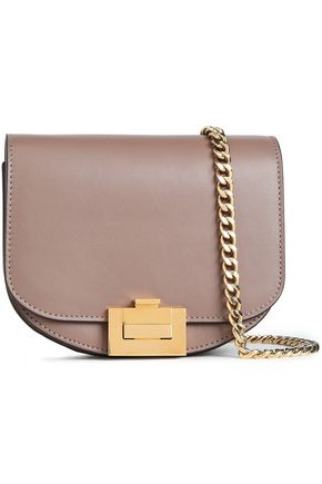 VICTORIA BECKHAM Box Chain nano leather shoulder bag