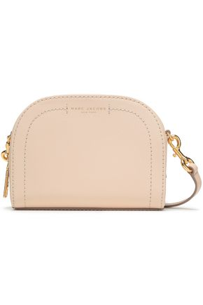 MARC JACOBS Textured-leather shoulder bag
