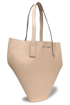 MARC JACOBS Textured-leather tote