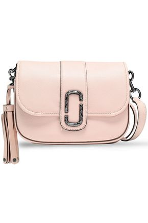 MARC JACOBS Tasseled leather shoulder bag