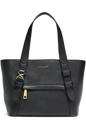 MARC JACOBS Pebbled-leather tote