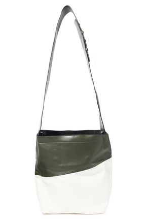 MARNI Two-tone leather shoulder bag