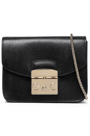 FURLA Pebbled-leather shoulder bag