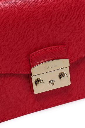 FURLA Metropolis textured-leather shoulder bag