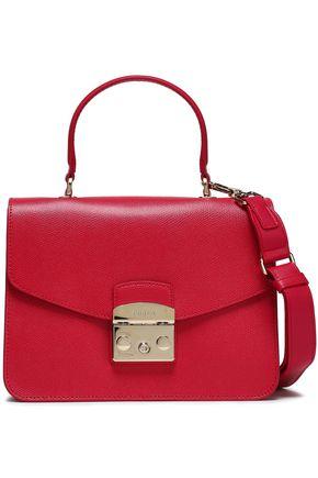 FURLA | Furla Metropolis Textured-leather Shoulder Bag | Goxip