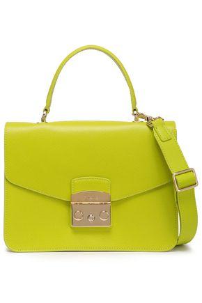 FURLA Pebbled-leather shoulder bag