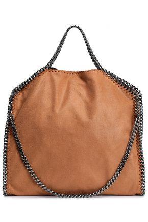 fc5153003504 STELLA McCARTNEY Falabella faux brushed-leather shoulder bag