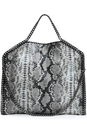 STELLA McCARTNEY Falabella snake-effect faux leather shoulder bag