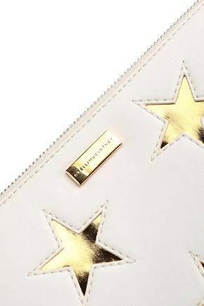 STELLA McCARTNEY Laser-cut faux leather pouch