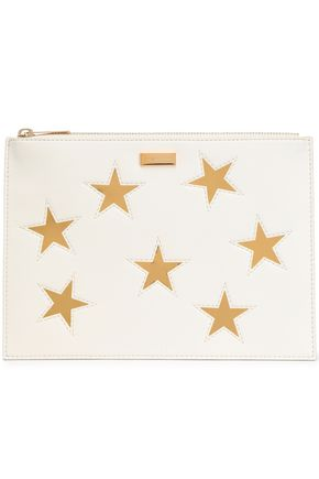 STELLA McCARTNEY Laser-cut faux leather pouch