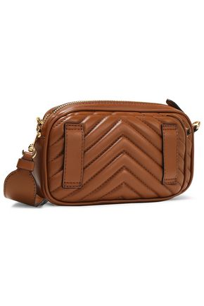 STELLA McCARTNEY Stella Star quilted faux leather shoulder bag