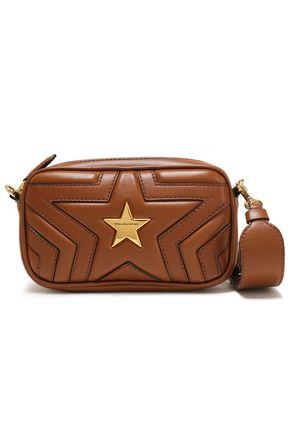 STELLA McCARTNEY Stella Star quilted faux leather shoulder bag