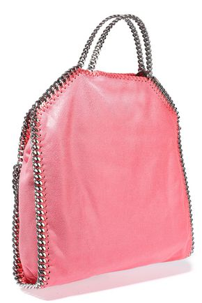 edb91b35b851 STELLA McCARTNEY Falabella faux brushed-leather shoulder bag