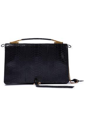 STELLA McCARTNEY Snake-effect faux leather shoulder bag