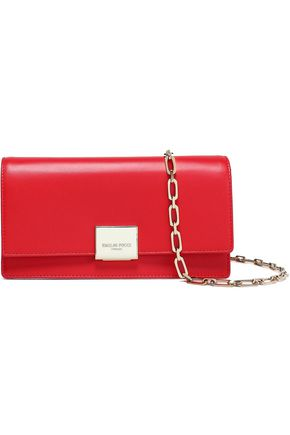 EMILIO PUCCI Two-tone leather clutch