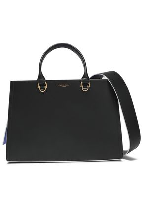 EMILIO PUCCI Two-tone leather tote