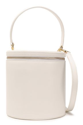 99bda1a79979 STAUD Vitti croc-effect leather bucket bag
