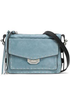 RAG & BONE Studded suede shoulder bag