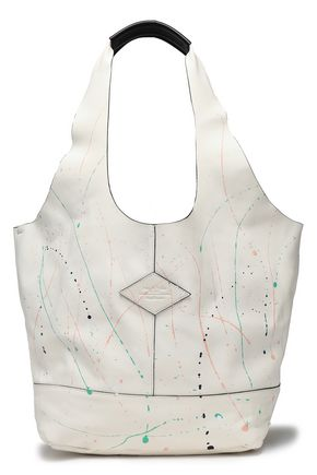 RAG & BONE Printed leather tote